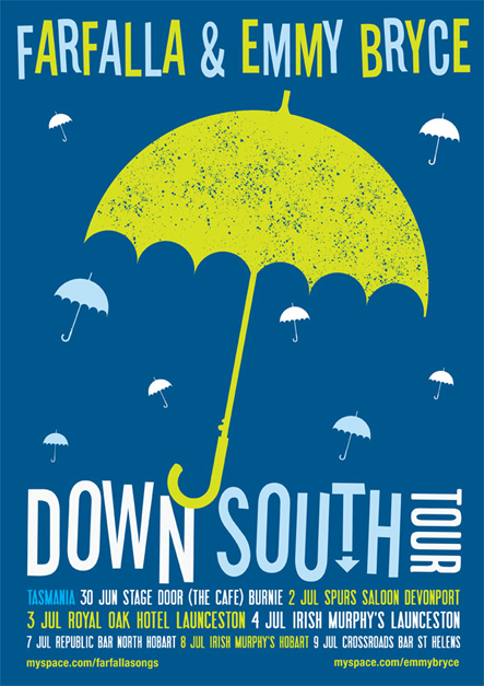 Down South Tour Poster