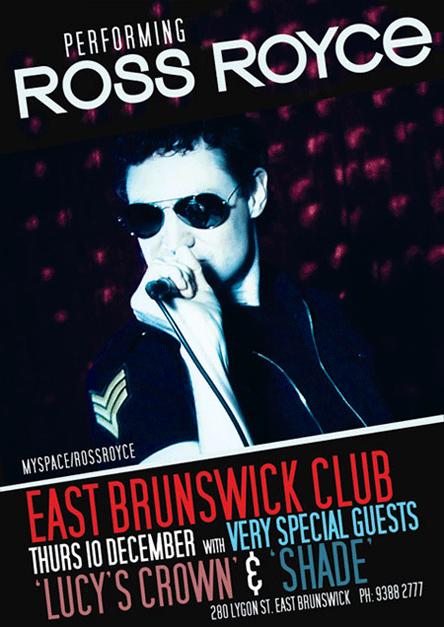 Ross Royce Poster