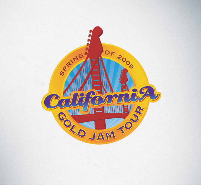California Gold Jam Tour Logo